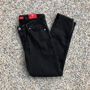 NEW Guess Britney Ankle Skinny Black Jeans Size 29